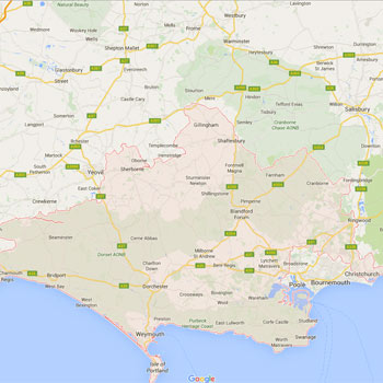 Dorset Roofing Services locations