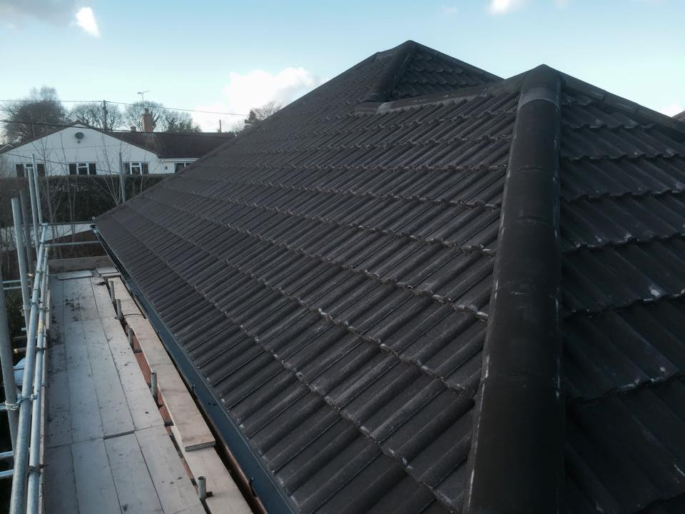 New roof in Corfe Mullen